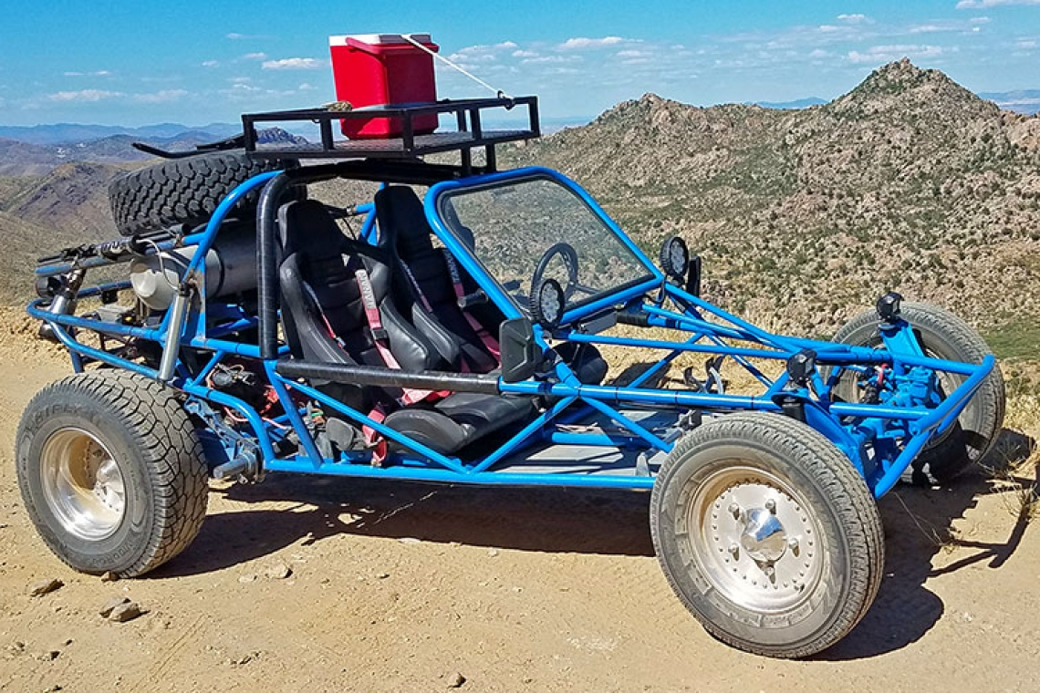 How It Started: VW Based 1600 Off-Road Sand Rail (My Buggy)